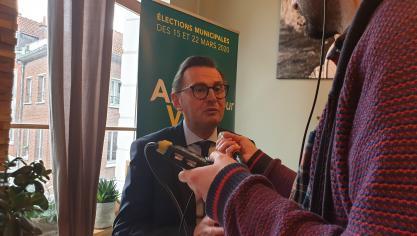 Leturque candidat à sa succession à Arras: ce qu'il faut retenir de sa conférence de presse