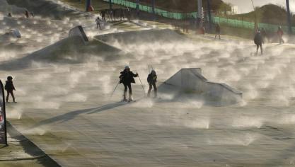 NSux-les-Mines: le ski se fête encore dimanche à Loisinord (photos et vidéo)