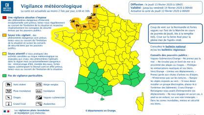 Le Pas-de-Calais en vigilance orange vagues-submersion