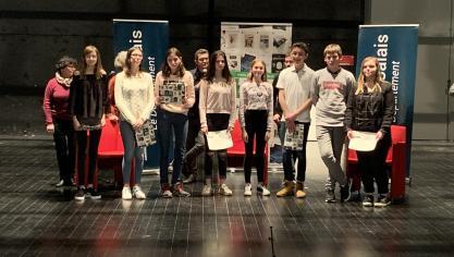 Isbergues : Les collégiens attisent leur regard critique