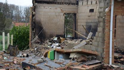 Mametz : au lendemain de l'incendie, les victimes disent merci