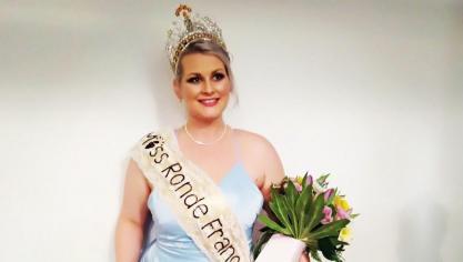 La Boulonnaise Astrid Feutry remporte l'élection de Miss Ronde France