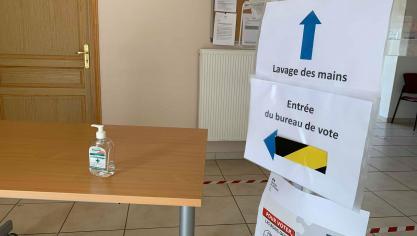 Pour les élections, toutes les précautions sont prises dans les bureaux de vote