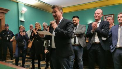 Le Portel : un raz-de-marée pour Olivier Barbarin, élu avec 76.81% des voix