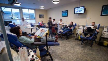 Confinement : les dons de sang continuent, comme ce vendredi à Bray-Dunes