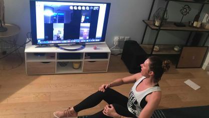 Hazebrouck: des cours de zumba par Skype pour garder la forme