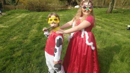 Aire-sur-la-Lys : les écoliers font carnaval quand même (photos)