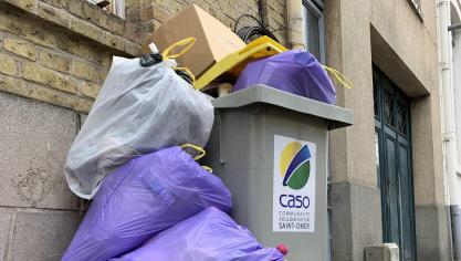 Audomarois : Au secours, ma poubelle déborde !