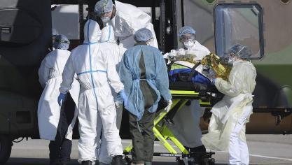 Coronavirus : 499 décès de plus en France à l'hôpital en 24 heures, 3 523 morts au total