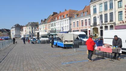 Vendredi, c'est jour de marché à Aire-sur-la-Lys