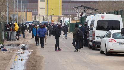 Les exilés de Calais accueillis dans la Lys Romane