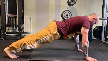 Actualité - Les Echos du TouquetUn coach sportif en confinement donne des exercices pour garder la forme