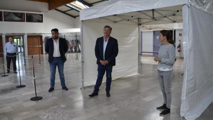 Un centre Covid ouvre à Boulogne-sur-Mer