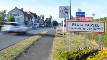 Socx/Bergues/Quaëdypre : des giratoires dans la zone de la Croix-Rouge B