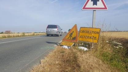 Un mois de travaux d'entretien sur les routes de Flandre