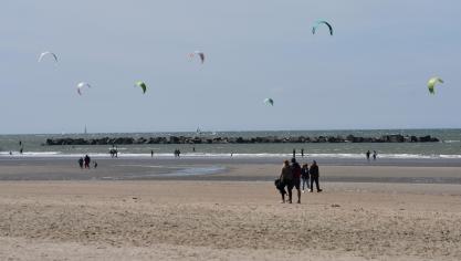 Dunkerque : il est de nouveau possible de s'asseoir sur le sable !