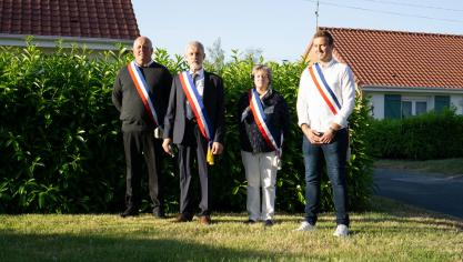 Jean-Luc Schricke, nouveau maire de Caestre