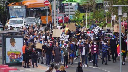 Dunkerque : une marche contre les violences policières réunie plus de 150 personnes