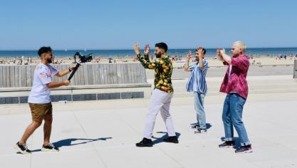 Dunkerque : Mohamed Henni et les Pancakes Bros, un clip pour leur ville