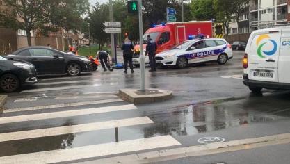 Dunkerque : une adolescente en trottinette renversée par une voiture