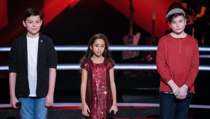 Second passage dans The Voice Kids pour le petit Portelois