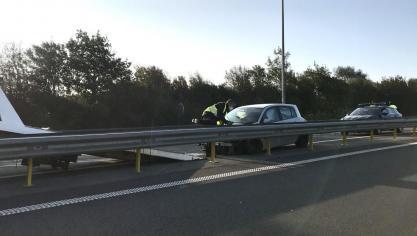Accident sur l'A16, quatre voitures impliquées