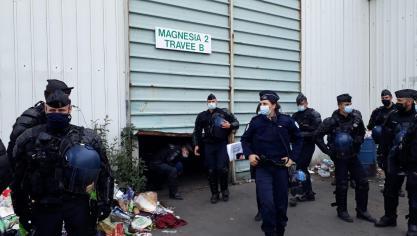 Friche Magnésia à Calais: démantèlement en cours avant la démolition (Photos et vidéos)