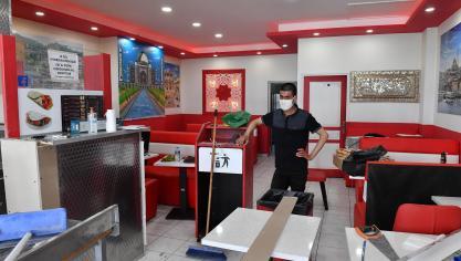 Dernière ligne droite pour Samiullah du restaurant Pasha Grill rue Royale.