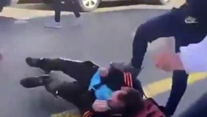 Calais: l'agression des SDF par quatre jeunes filmée et publiée sur les réseaux sociaux (vidéo)