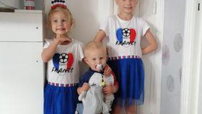 « Nous on est supporters de la France à la maison en famille pour respecter les gestes barrières », note Morgan.