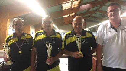 Hazebrouck : une équipe du club de pétanque vice-championne du Nord