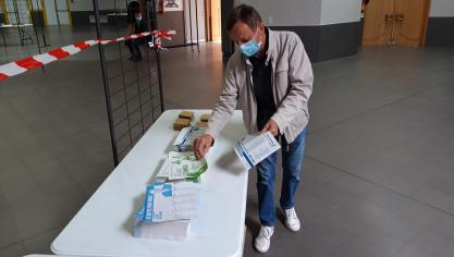 Selon certains assesseurs à Bourbourg, ce dimanche 27 juin, ils faisaient la connaissance de nouveaux électeurs qui n'étaient pas venus la semaine dernière. Photo d'illustration.
