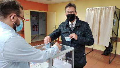 Canton de Wingles : André Kuchinski et Antoine Ibba ont voté