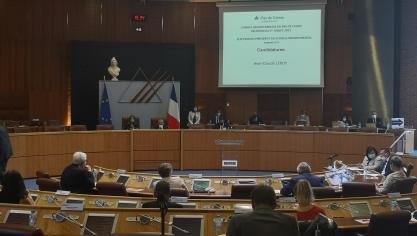 Pas-de-Calais: le nouveau Conseil départemental est en place, Jean-Claude Leroy est confortablement élu président (vidéos)