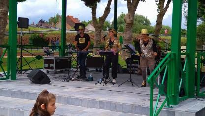 Isbergues : le retour du kiosque célébré en musique
