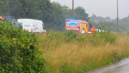 Les accidents ont eu lieu ce lundi matin sur l'A16.