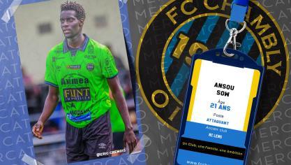 RC Lens: recommandé par Franck Haise, Ansou Sow signe à Chambly