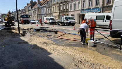 Boulogne-sur-Mer : grosse coupure d'eau dans le quartier de Brequerecque