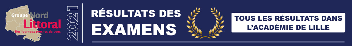 Retrouvez tous les résultats des examens BAC, CAP, BEP, BTS, Brevet des collèges dans l'Académie de Lille
